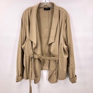 Like New Lane Bryan khaki jacket